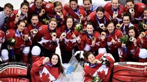 Канадские хоккеистки в четвёртый раз подряд получили золото Олимпиады!